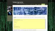 atestat informatica html subprograme 4