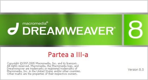 Tutoriale Dreamweaver Partea 3
